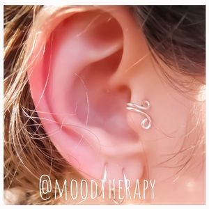 Clip on Tragus fake cartilage earring